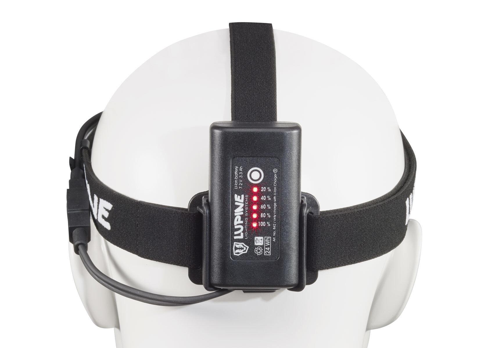 Lupine Piko RX 4 SmartCore Helmlampe schwarz gu00fcnstig kaufen fahrrad.de
